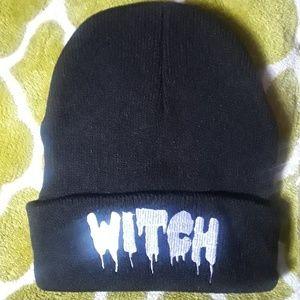 Black beanie • Witch • ♡ New ♡